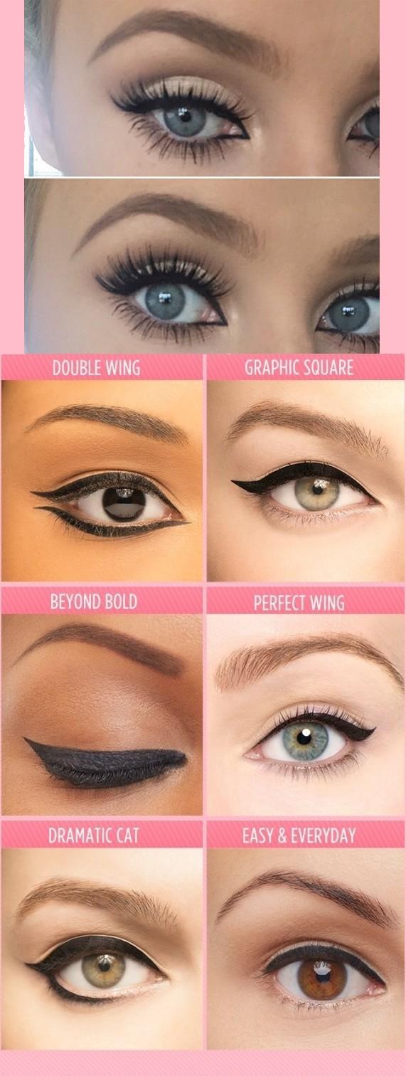 Jak dobrze zrobiona kreska potrafi powiększyć nasze oczy♥ MEGA!!!