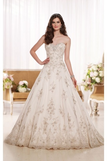 Essense of Australia A-Line Wedding Dress Style D1757