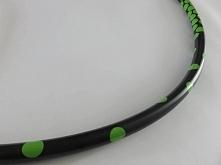 zielone kropki