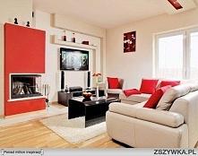 piekny-salon-czerwony-kolor-i-komin