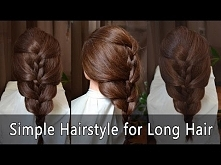 Easy hairstyles: Simple Hairstyle for Long Hair