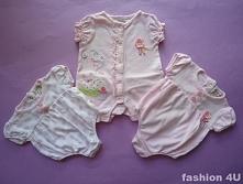 """Jaki słodki kształt! Ubranka dla dziewczynek z cyklu """"tak samo, ale troc..."""