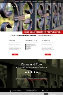 Adler Zäune - projekt stron...