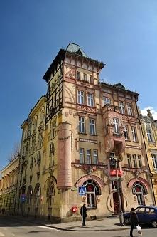 Bielsko - Biała, kamienica pod żabami