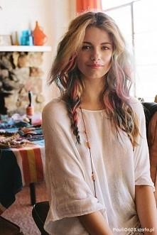 pastelove włosy :-) fajne