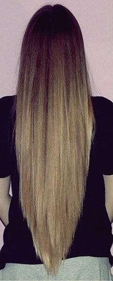 Od fryzurki na pazurki do ponad półmetrowych włosów :)