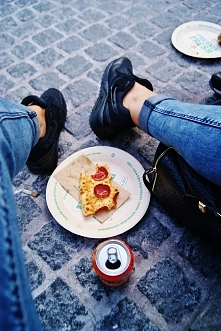 pizza w biegu :)