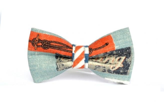 Oryginalna muszka męska z motywem marynarskim.  Do kupienia w ślubnym sklepie internetowym Madame Allure!  >>> link w komentarzu <<<