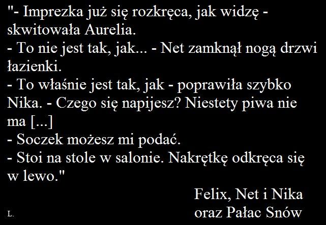 "Rafał Kosik -""Felix, Net i Nika oraz Pałac Snów"""