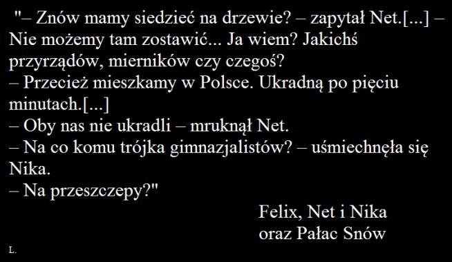 "Rafał Kosik - ""Felix, Net i Nika oraz Pałac Snów"""