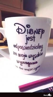 całe dzieciństwo z Disney