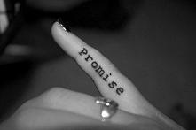 tatuaż promise