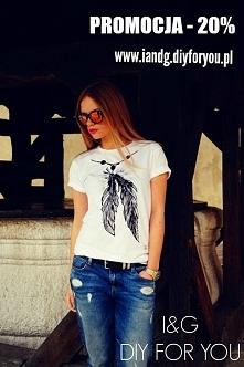 Promocja -20% na koszulkę kończy się w niedziele o północy  :) Łap okazję !  ...