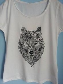 T-shirt ręcznie malowany asiajooko@gmail.com