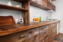 Kuchnia ze starego drewna... ekskluzywnemeble.net