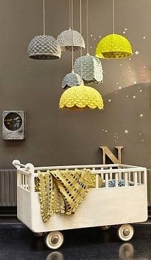 Bomba kolorystyczna i beczka pełna pomysłów - zbiór pokoi dziecięcych