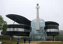 Piano Shaped Building - Chiny