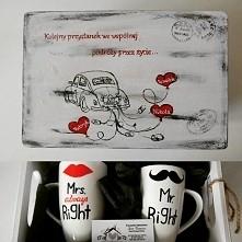 dla Młodej pary,która już od dawna tworzy rodzinę :-) made by Love Domowe