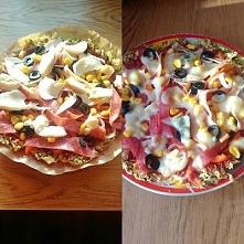 Pizza z kalafiora :D