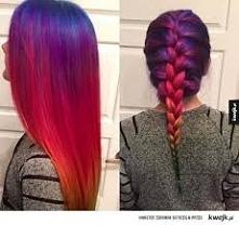 Włosy Rainbow