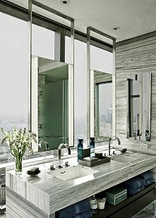 Idealne rozwiązanie do łazienki z oknami.  Więcej na blogu moojconcept .com