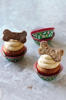 Peanut Butter Pupcakes, czyli babeczki dla psa :P