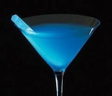 Blue Drink Halloween