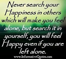 poszukując szczęścia