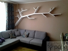 Półka gałąź drzewo 290x145x20cm Realizuje na zamówienie podobne projekty:)