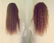 letnie fryzury- fale