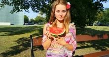Arbuz - pyszna, niskokaloryczna przekąska :-) Lubicie arbuza?  Zapraszam na b...
