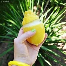Orzeźwiający cytrynowy sorbet- na upały jak znalazł :)  Składniki: - 3 duże c...