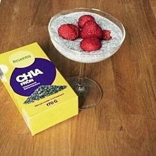 Przepis na chia pudding w 5 minut u mnie na facebooku; Move Your Life. :) Zapraszam!