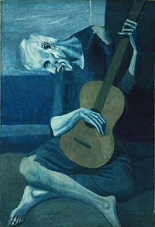 """Pablo Picasso """"The old..."""