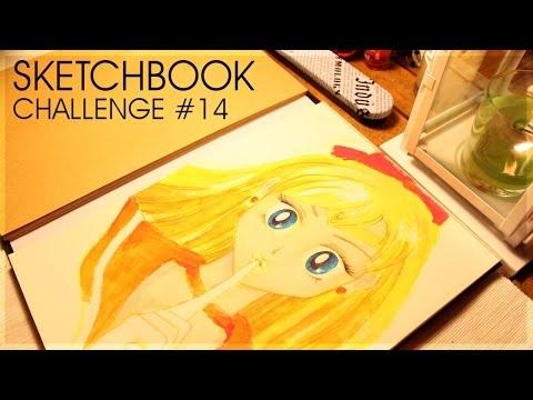 Sketchbook Challenge #14 Sailor Venus