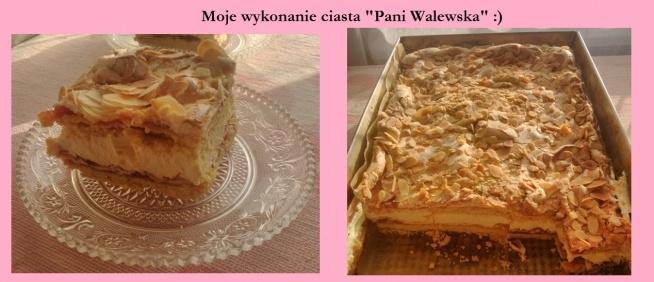 Jedne z ciast zrobionych na Święta Wielkanocne :)