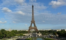 Wieża Eiffla - Paryż (ciekawostki po kliknięciu w zdjęcie)