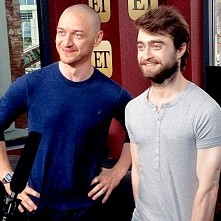 McAvoy and Daniel Radcliffe