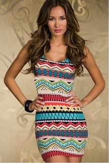 Świetna sukienka w stylu az...