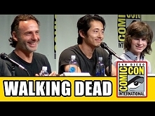 The Walking Dead Comic Con 2015 Panel - Andrew Lincoln, Norman Reedus, Lauren...
