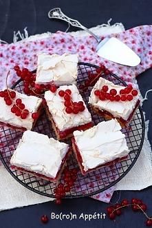 Ciasto porzeczkowe z bezą