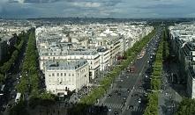 Pola Elizejskie - Paryż (ciekawostki po kliknięciu w zdjęcie)