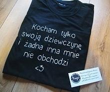 Koszulka idealna dla Waszego faceta! Kliknij w link a przeniesie Cię na moją ...