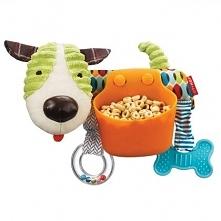 Zabawka do wózka 2w1 - ten uroczy psiak to nie tylko wielofunkcyjna zabawka, ...