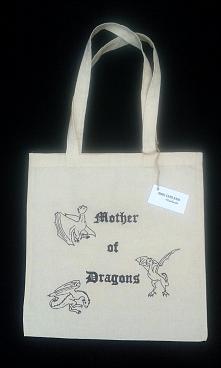 Ręcznie malowana torba bawełniana dla fanów Gry o Tron ;) Chcesz zobaczyć wię...