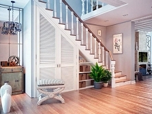 Szafa pod schodami. Więcej po kliknięciu w zdjęcie.