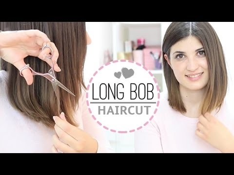 na stopach o nowy styl ceny detaliczne Long bob haircut DIY jak obciąć włosy samemu na Włosy ...