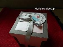 pudełko, kartka