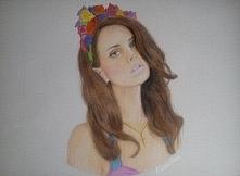 Lana Del Rey, kredki :)