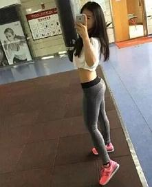 legginsy sportowe fitness s...